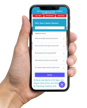 Smart Help Assistant App For Doctors Example 2