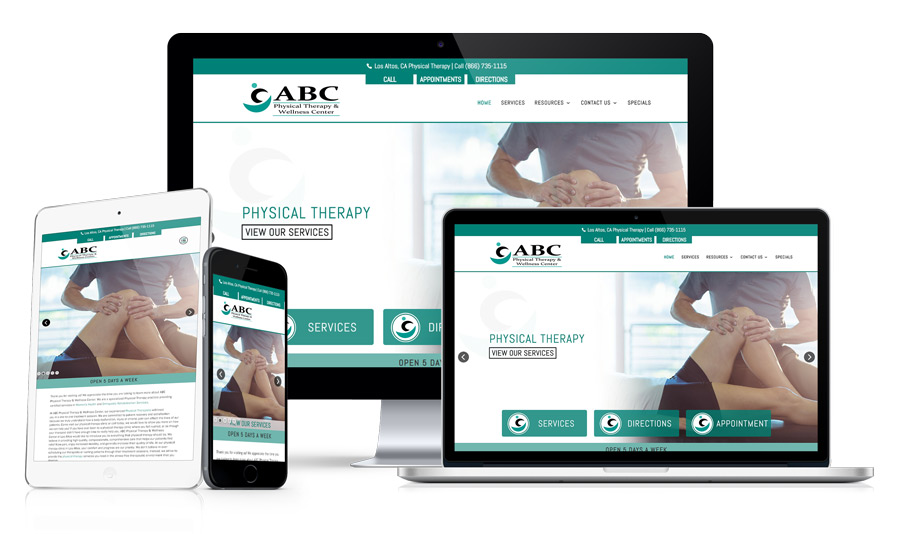 Website Design For Doctors and Medical Practices Example 232
