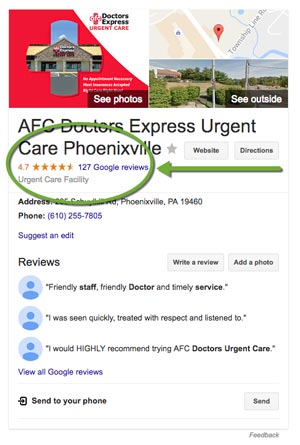 How to generate online positive reviews for doctors