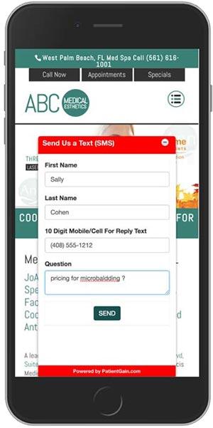Mobile Medical Marketing For Medical Spas - Example 2