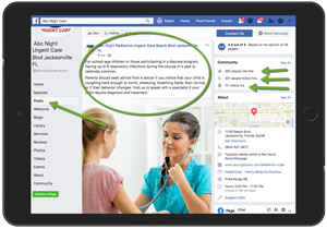 Facebook Posting Physicians and Medical Practices Example 20