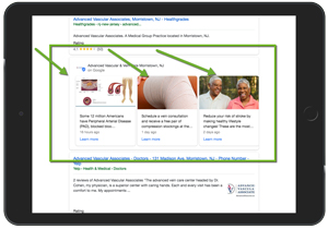 Impact of Google Posts on Healthcare Marketing Example 3