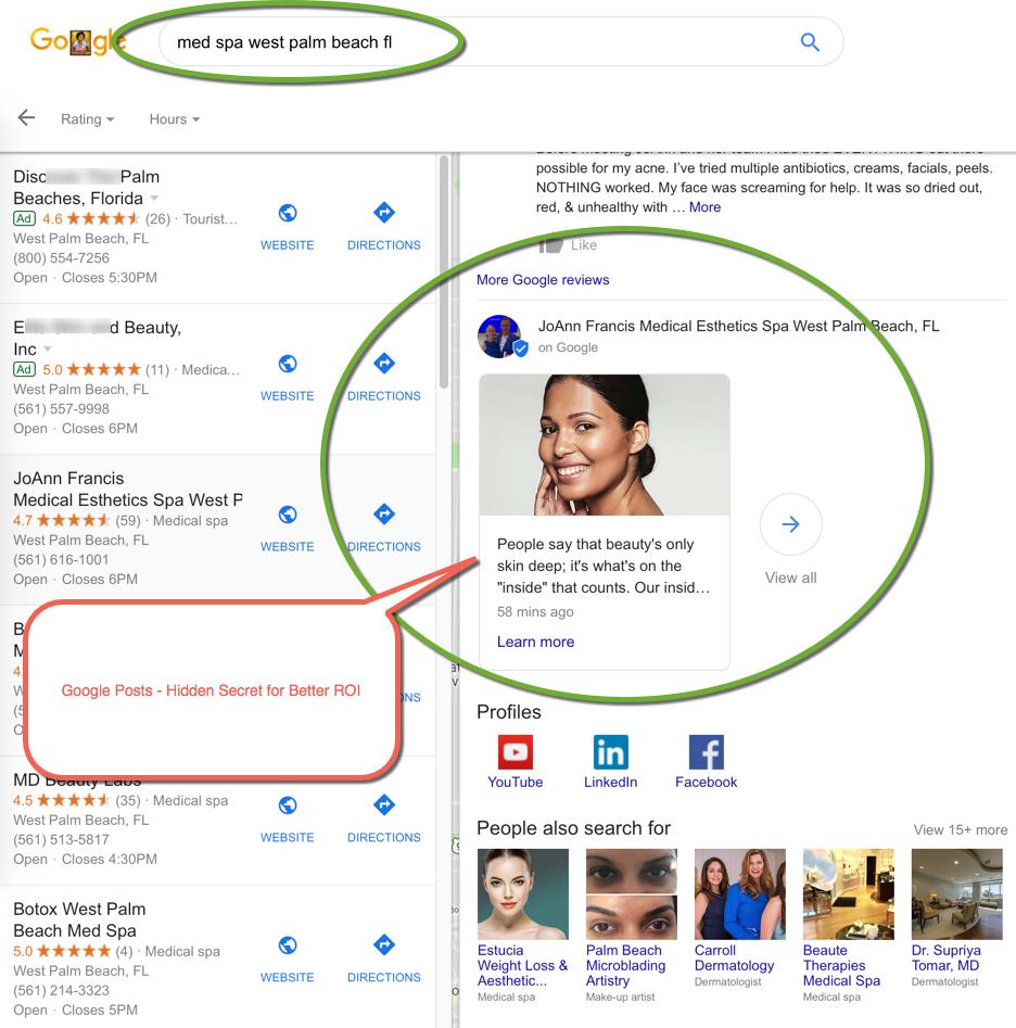 Google Posts For Medical Marketing