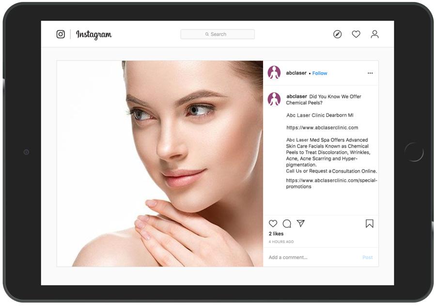 Instagram Posting App For Doctors Example 334