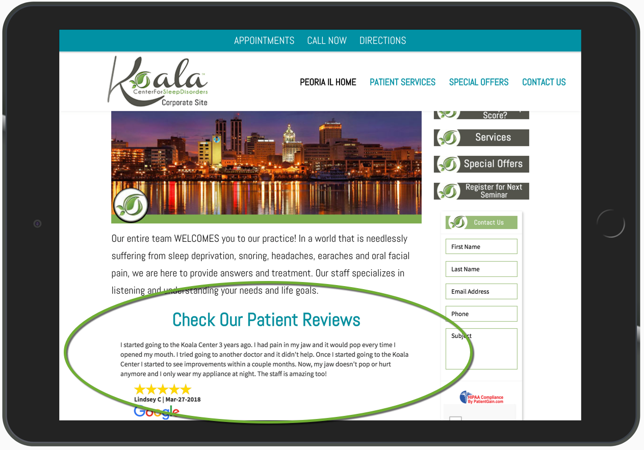 Medical Marketing and Patient Engagement Example 3