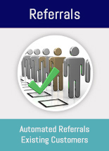 Send referral promotions to your social media contacts, likes & friends. This simple app is a powerful tool to promote your business to existing and new patients