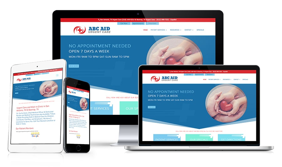 Conversion Mobile Websites For Urgent Care Centers