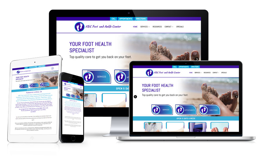 Website Design For Doctors and Medical Practices Example 256