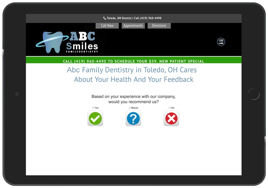 Feedback App For Dentists