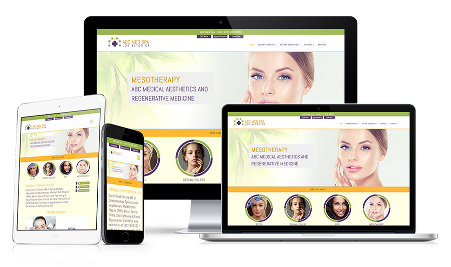 MedSpa Marketing & Conversion Websites Example 66