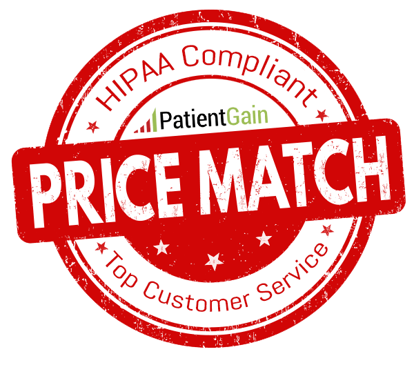 PatientGain Offers Price Match Service For Doctors.