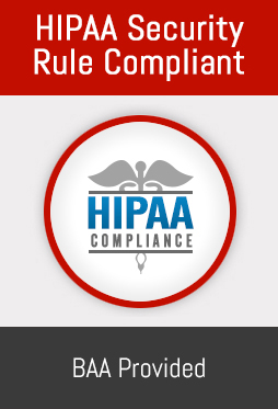 HIPAA Compliant Storage for PHI submitted from your secure Medical Website.