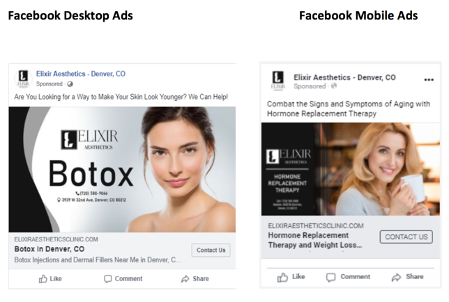 Facebook Ads For Medical Practices Example 6