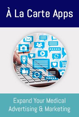 À la Carte  Medical Marketing Apps