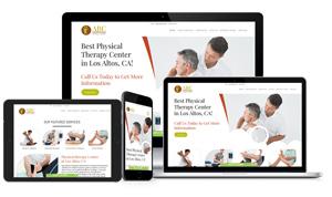 Medical doctor website design