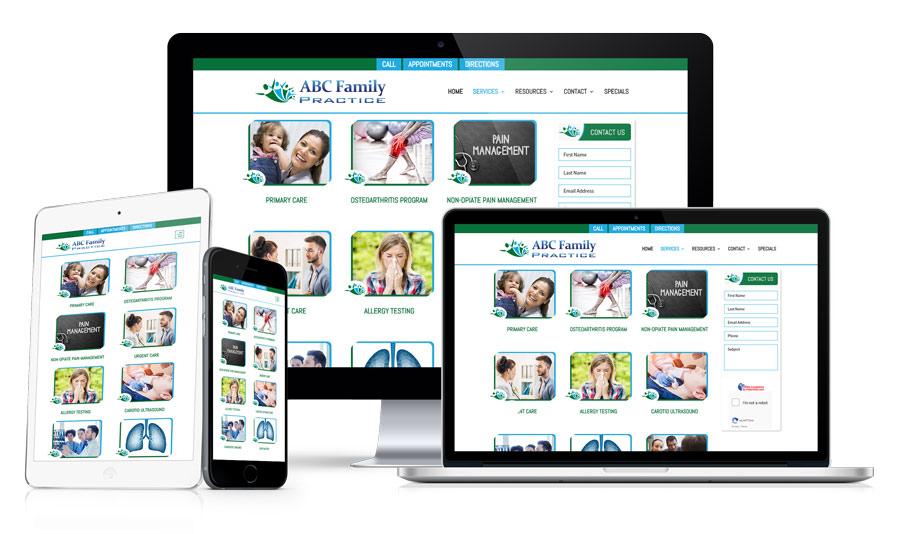 Google Optimized Doctors Website