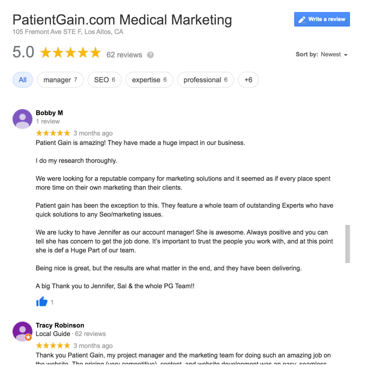 Medical Marketing Company With Good Reviews