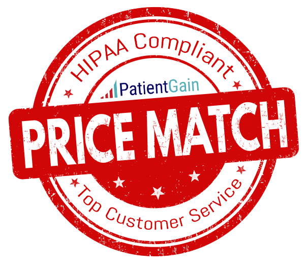 PatientGain Offers Price Match Marketing Service For Doctors.