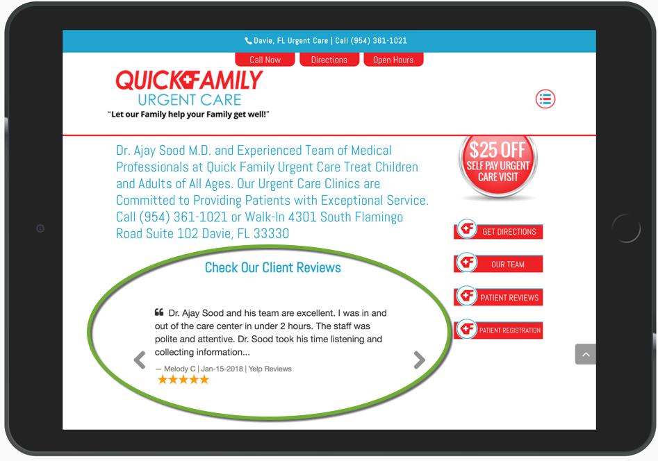 Medical Marketing Reviews Example 324