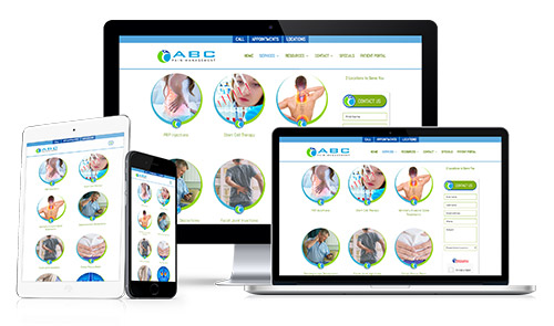 Healthcare Marketing Websites Example 102