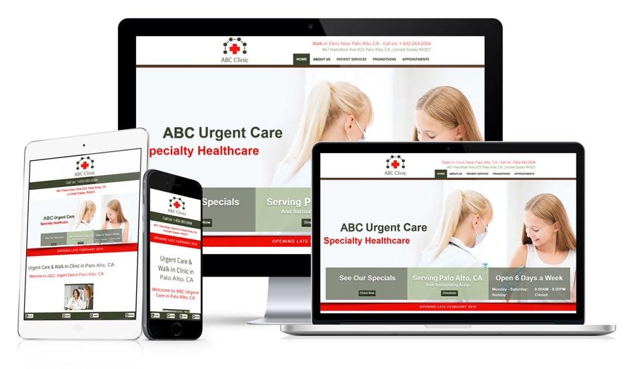 Website Design For Urgent Care Centers